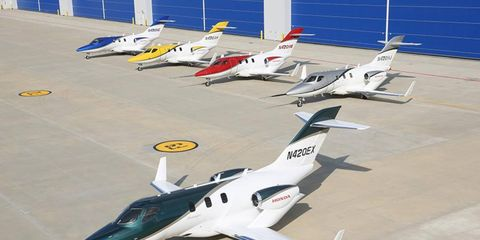 """Sadly, Honda resisted the urge to call the HondaJet the """"Goldwing."""" Or call it an Acura."""