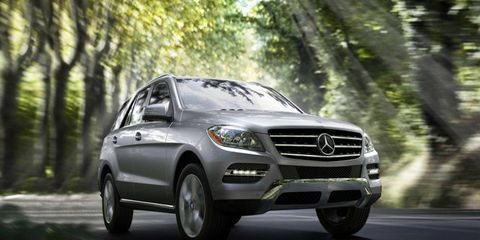 Benz's diesel ML is a smooth operator.