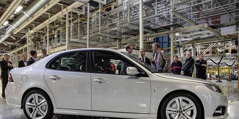 Production of the Saab 9-3 had resumed last year after the purchase of the assembly line and model by NEVS.