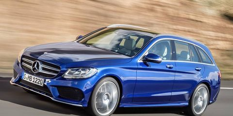 The C-Class Estate will go on sale in September 2014. However, we in America haven't had a C-Class wagon since 2005.
