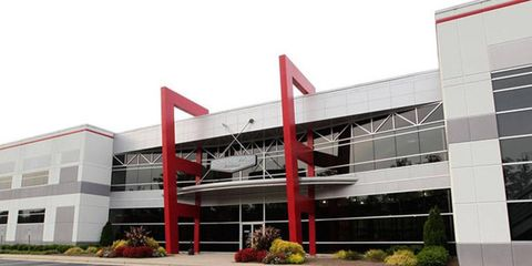 Gene Hass' Formula One facility is currently being built on the grounds next to Stewart-Haas Racing.