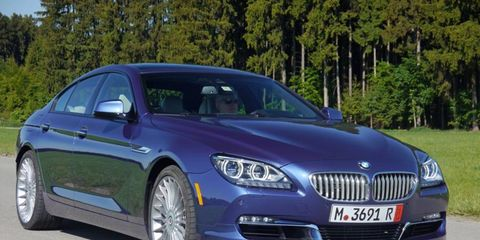 Alpina's latest Bimmer tops out just shy of 200 mph