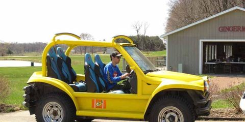 The race organizers at Gingerman had the use of this fine machine for a weekend.