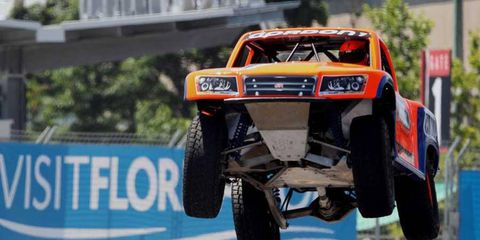 Robby Gordon has brought raucous action to venues and crowds not usually exposed to pro truck racing.