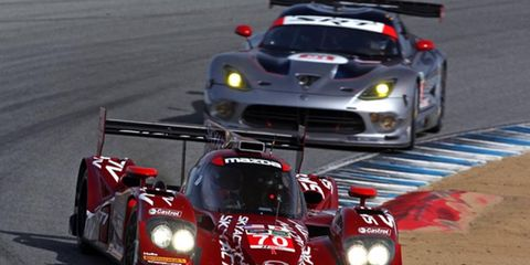 The Mazda Skyactiv-D prototype is looking to make waves in the Tudor United SportsCar Championship this season.