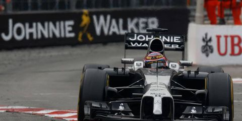 Jenson Button is in eighth place in the Formula One drivers championship standings.