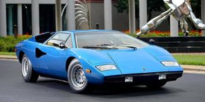 This early Countach is one of the best examples in the world.