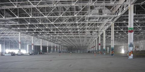 This is what a million square feet looks like (partial view)