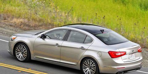The Kia Cadenza sedan helped in the Initial Quality Study.