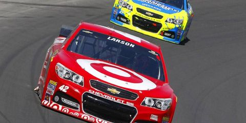 Kyle Larson, a rookie in the NASCAR Sprint Cup Series, has a lot on his plate this year.