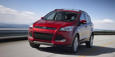 The Escape has been a popular SUV on car thieves' lists, and the rest aren't the priciest, either.