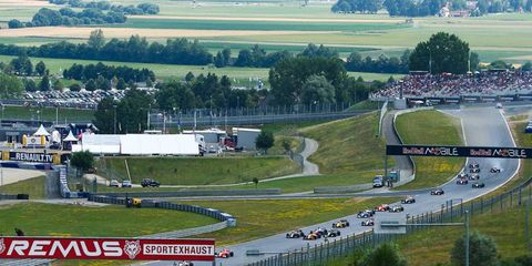 Formula One will be at the Red Bull Ring in Austria this weekend.