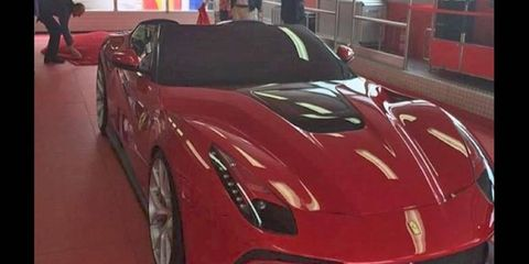 The F12 goes topless -- for one client at least -- with this F12 TRS one-off. It's reportedly a hybrid, too.