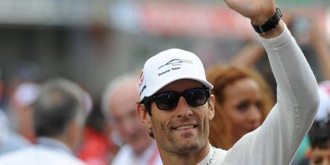 Former Formula One driver Mark Webber raced for Porsche at Le Mans.