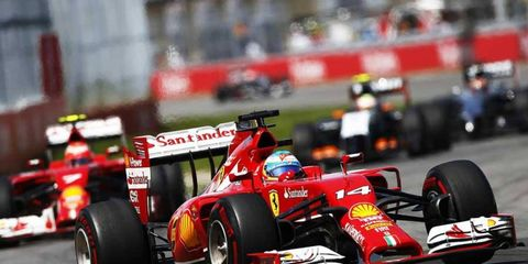 Fernando Alonso is not having the title-contending season he had hoped for with Ferrari.