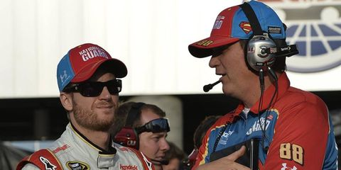 Steve Letarte is leaving his position as crew chief for Dale Earnhardt Jr. at the end of the season.