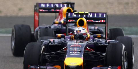 Formula One drivers Sebastian Vettel and Daniel Ricciardo show off Red Bull Ring prior to Austrian Grand Prix in new video.