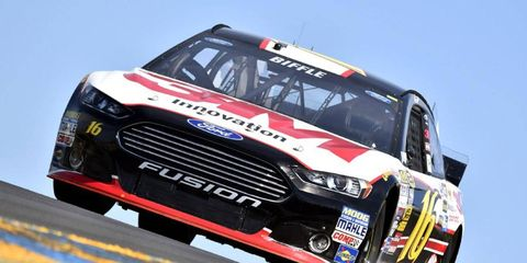 Greg Biffle is still working on a contract extension with Roush Fenway Racing.