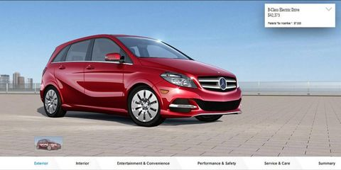 The B-class Electric Drive goes on sale in 10 U.S. states in July.
