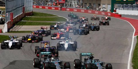 Formula One is considering using standing restarts whenever the safety car comes out.