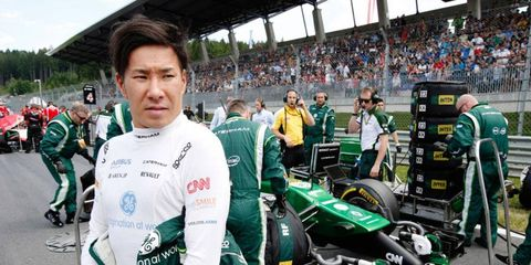 Kamui Kobayashi is still seeking his first point as a driver with Caterham's Formula One team.