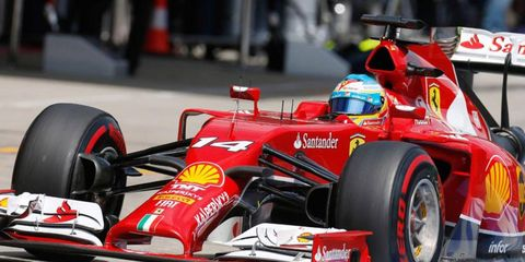Fernando Alonso is fifth in the Formula One points standings this season.