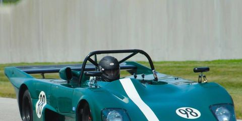 This 1978 Lola T298 raced at the 2014 Le Mans Classic.