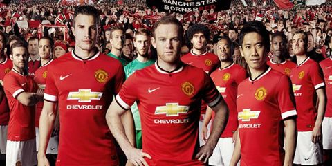Chevy is now the sponsor of Manchester United.