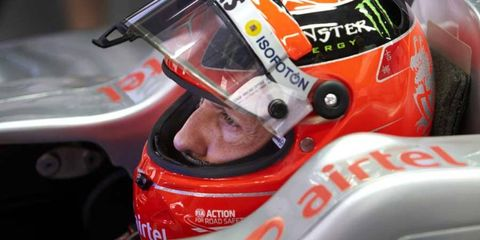 Michael Schumacher has been in a coma since a skiing accident in December of 2013.
