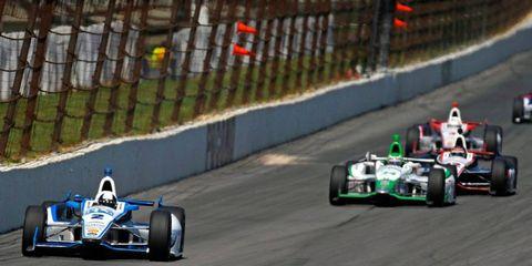 On Sunday at Pocono, Juan Pablo Montoya won his first IndyCar race since 2000.