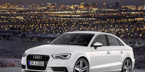 The Audi A3 will start at $30,795.