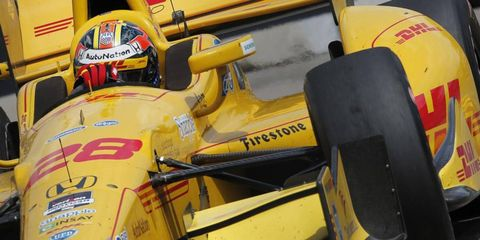 Ryan Hunter-Reay has been trying to recapture the success he had at the Indy 500 all season.