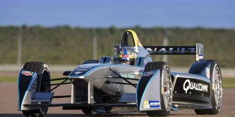 The all-electric Formula E racing series make debut in September in Beijing.