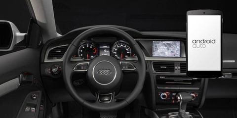 The Audi A5 will be among many cars featuring Android Auto.