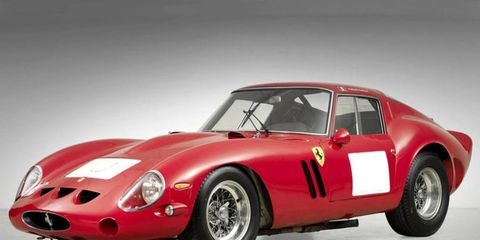 Pretty, isn't it: This Ferrari 250 GTO, one of just 39 built, may smash world records when it crosses the auction block later this year.