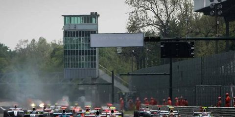 The iconic Monza track has held both Formula One and Formula Renault 3.5 Series races.