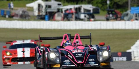Gustavo Yacaman put OAK Racing on the pole at Canadian Tire Motorsport Park on Saturday.