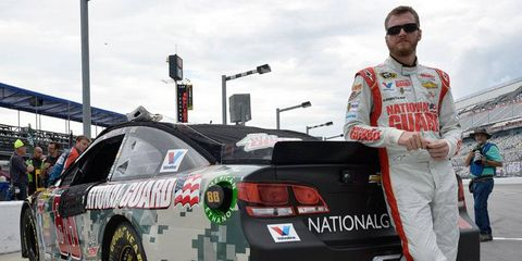Dale Earnhardt Jr. had one ear on the LeBron James decision.