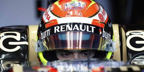 Pastor Maldonado has not yet earned a point in the 2014 Formula One season.