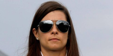Danica Patrick het yet to finish a NASCAR Sprint Cup Series race in the top five.