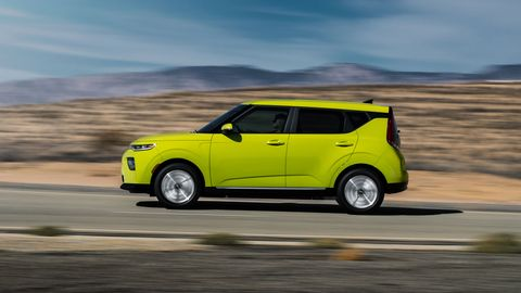 The 2020 Kia Soul EV gets a new battery good for 291 lb-ft of torque.