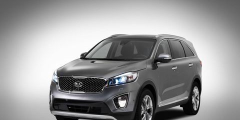The 2015 Kia Sorento will be shown inside and out at the 2014 Paris Motor Show this October.