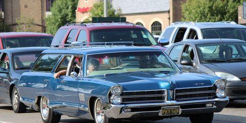 Pontiac Safari wagon from Woodward