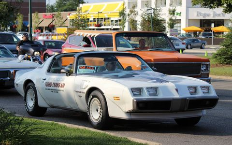 Pontiac Trans-Am Pace Car from Woodward