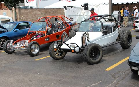 These dune buggies looked sad on tarmac, the sand awaits!