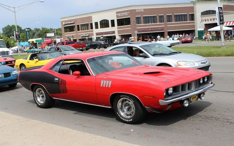 Mopar muscle from the 2014 Woodward Dream Cruise
