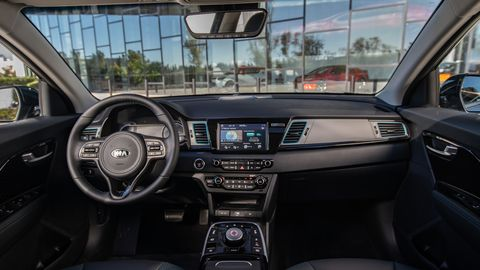 The 2019 Kia Niro EV comes well equipped in either EX or EX Premium trim.