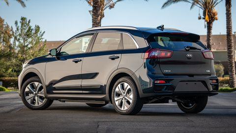 The 2019 Kia Niro EV has a 239-mile range on a full battery.