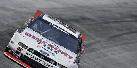 Ryan Blany pulled out a win at Bristol on Friday night in the NASCAR Nationwide series