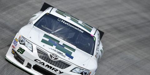 Milka Duno failed to qualify for Friday night's NASCAR Nationwide race.